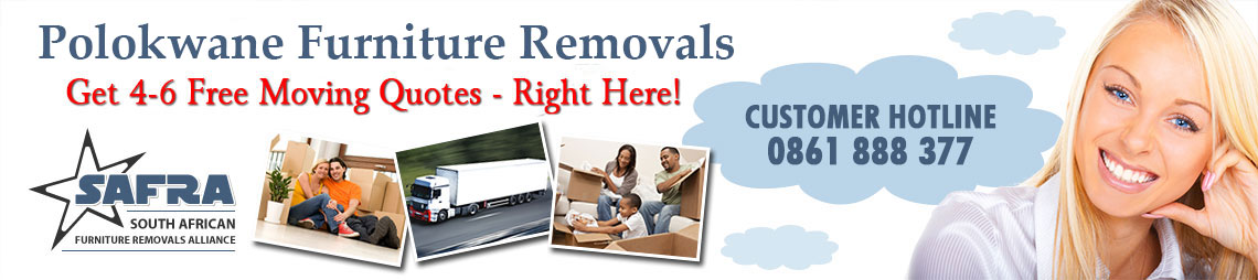 Polokwane Furniture Removals | Get 4-6 Free Quotes Right Here!